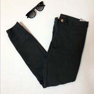Dark Charcoal Grey Banana Republic Pants